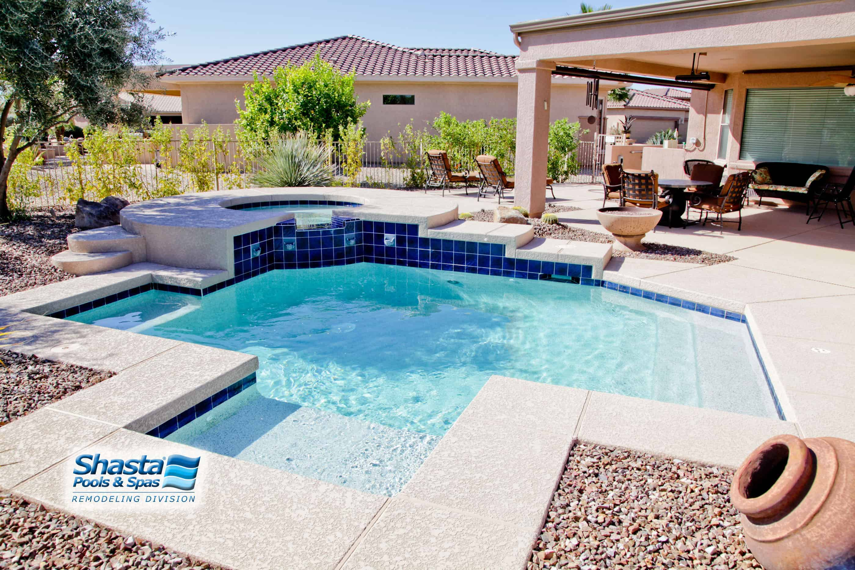 Swimming Pool Renovation Ideas : Pool remodeling phoenix mesa arizona shasta pools and spas