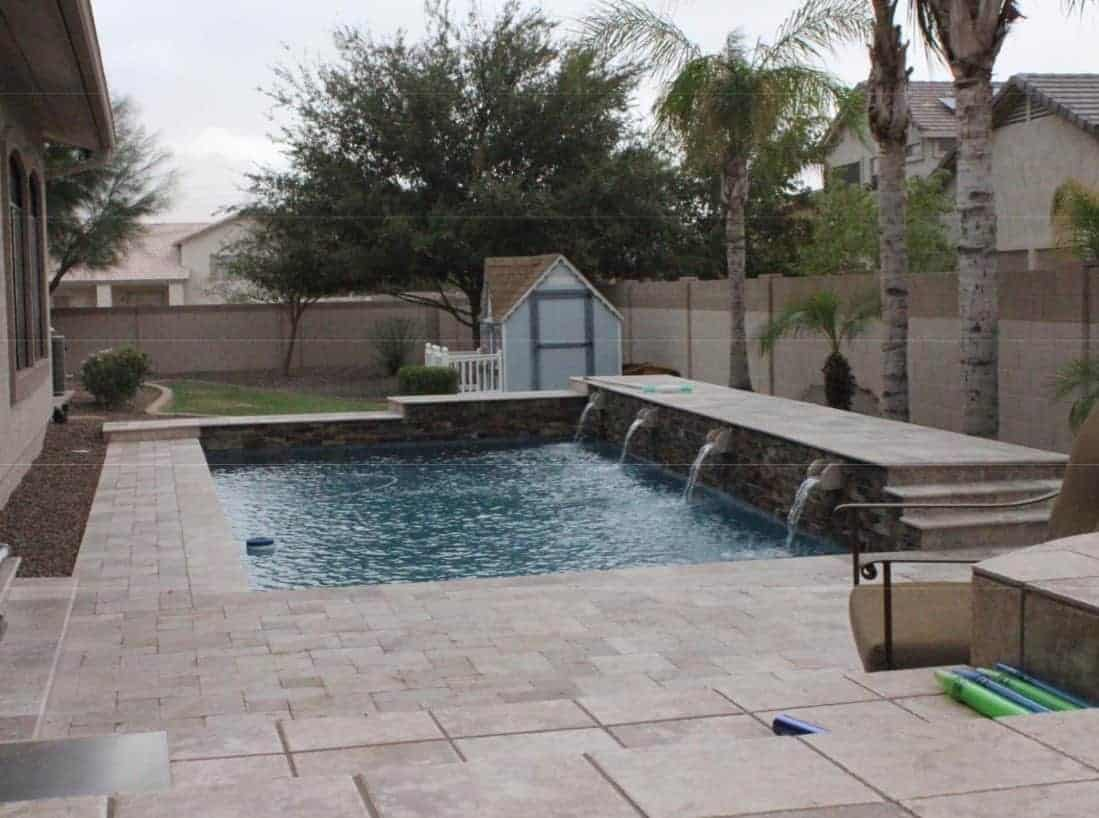 Phoenix az pool remodel shasta pools spas mesa for Pool renovations